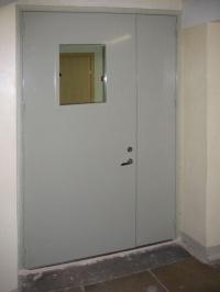 дверь металлическая противопожарная двупольная ДПМ 02 30