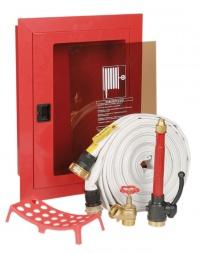 шкаф пожарный внутриквартирный встраиваемый с стеклянной дверцей