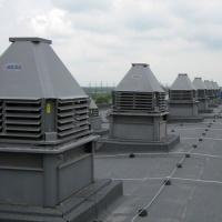 вентиляторы Веза Крос установленные на крыше
