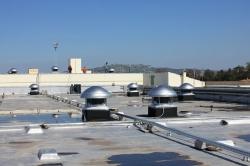 Крышный вентилятор дымоудаления ВКР