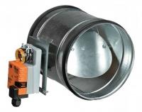 канальный клапан с приводом Belimo