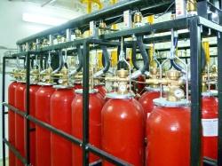 Автоматические установки газового пожаротушения МГП и LPG