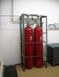 модуль газового пожаротушения МГП 50 100