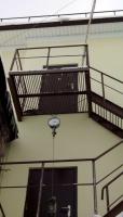 проверка площадки пожарной лестницы