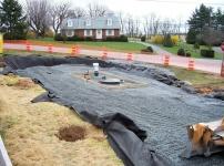 завершающие работы по монтажу резервуара под землю