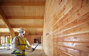 Описание правил и норм как защитить деревянный дом от пожара