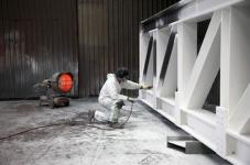 защита конструкции вспучивающимся составом