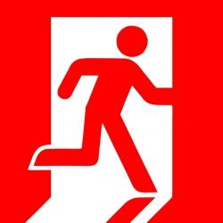 знак эвакуационного выхода