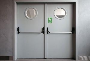 двухполая дверь