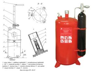Как устроено порошковое пожаротушение Лавина