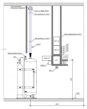 схема монтажа МУПТВ Тайфун