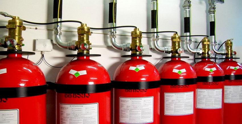 Установки порошкового пожаротушения модульного типа: принцип работы, типы, правила установки