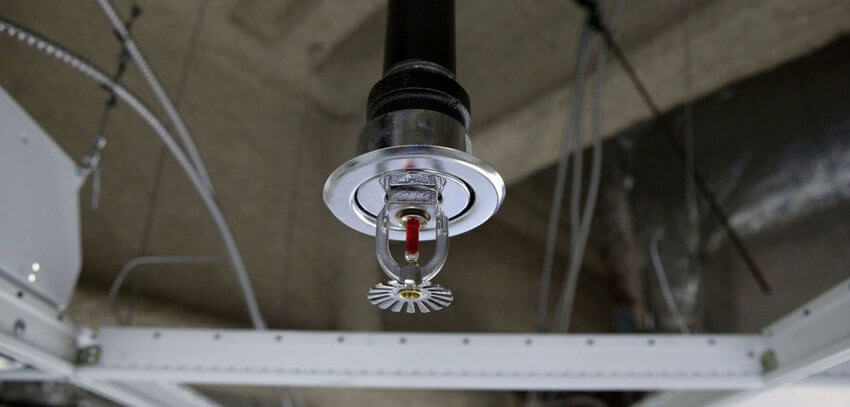 Устройство и принцип работы спринклерного пожаротушения, нормы установки