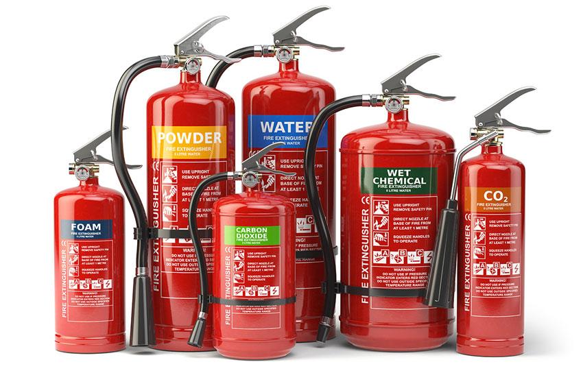Какие бывают огнетушители: типы, классы и характеристики