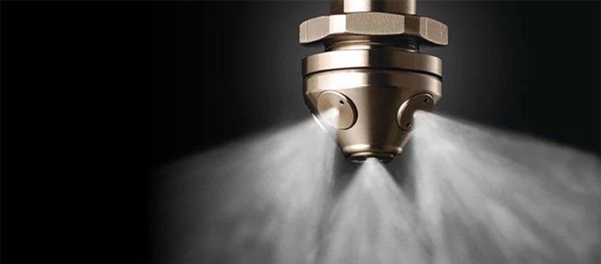 Как работает модульное пожаротушение тонкораспыленной водой МУПТВ