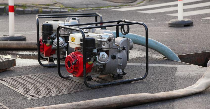 Пожарные мотопомпы: типы, устройство, применение при пожаре