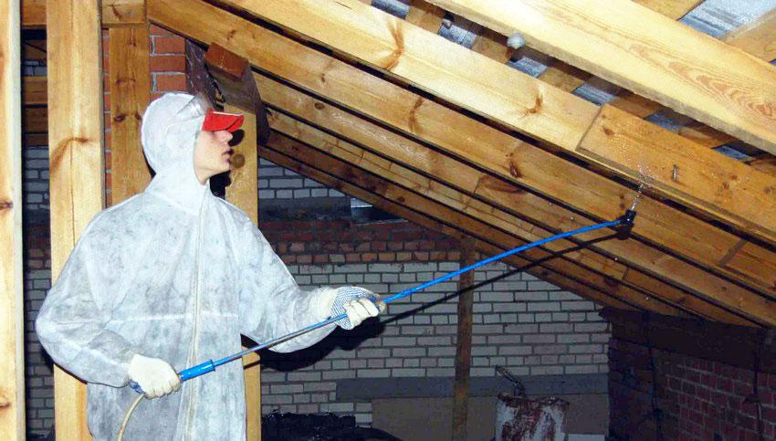Требования к огнезащитной обработке чердачных помещений и мансард: нормативы, периодичность, составы