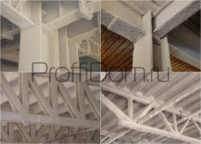 противопожарная защита металлических конструкций вспучивающимися составами