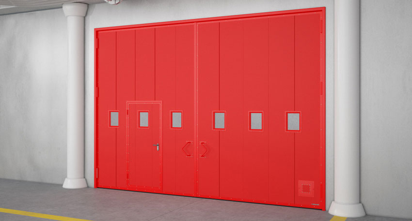 Требования к противопожарным воротам: огнестойкость, конструкция, монтаж