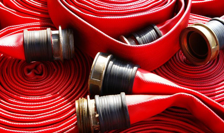 Назначение и устройство напорных пожарных рукавов