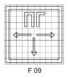 сетка знака F09