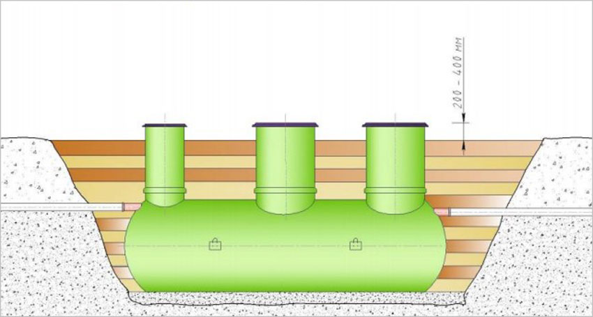 установка подземного резервуара 07