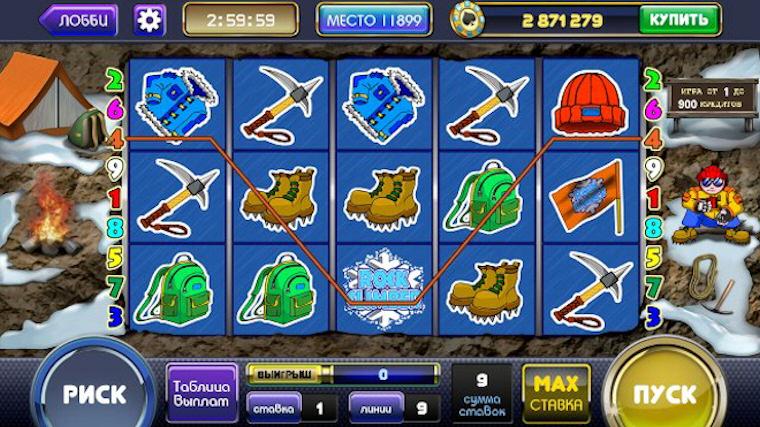 Азартные автоматы в казино Вулкан без регистрации