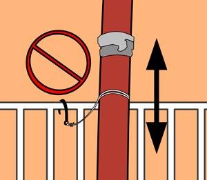 установка задержки для пожарных шлангов