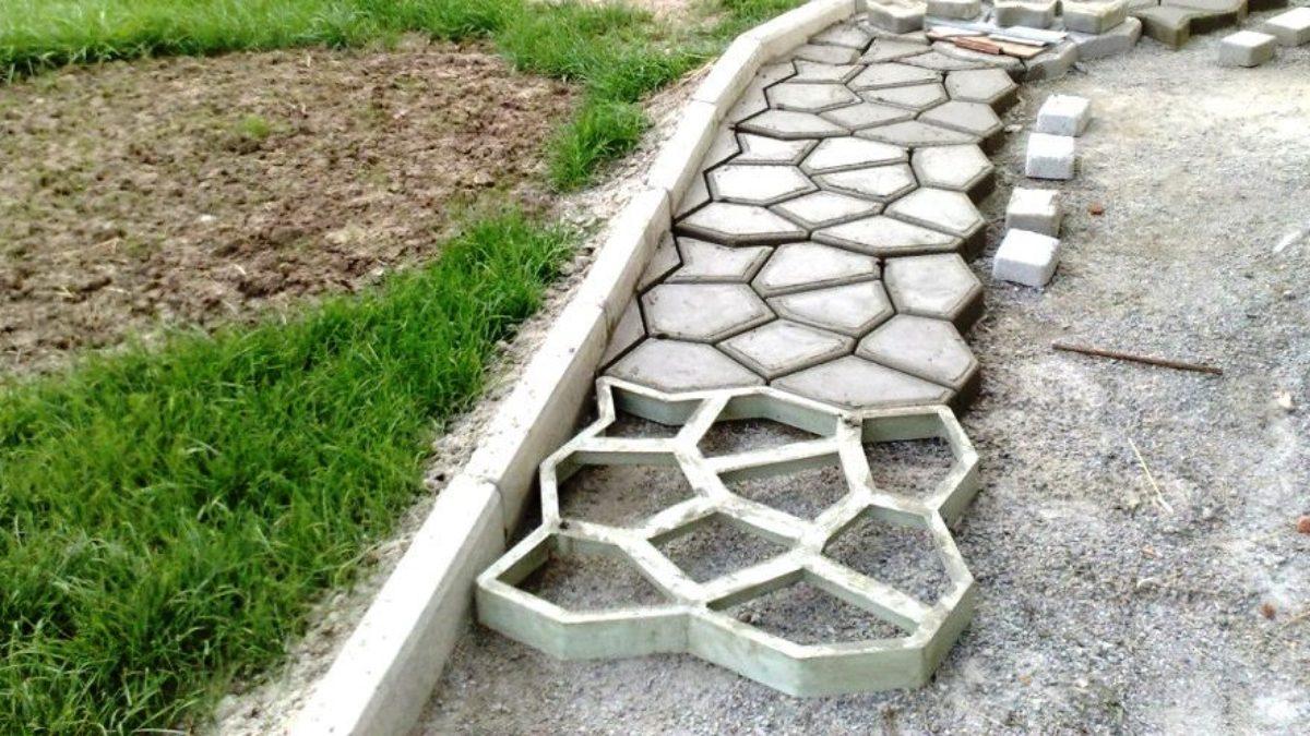 Как обустроить садовые дорожки на даче