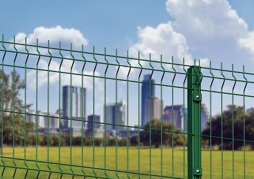 3D забор: характерные особенности