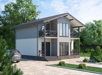 Каркасные дома – это выгодно, быстро и практично