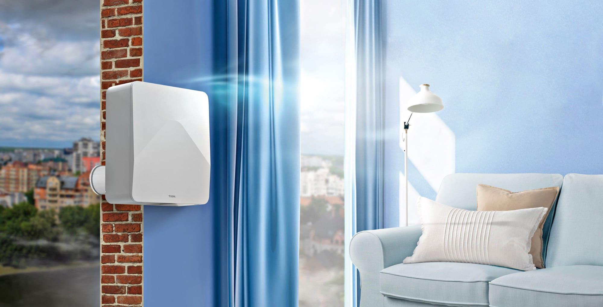 приточной вентиляции в квартире