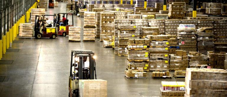 обслуживание техники для нужд складской деятельности