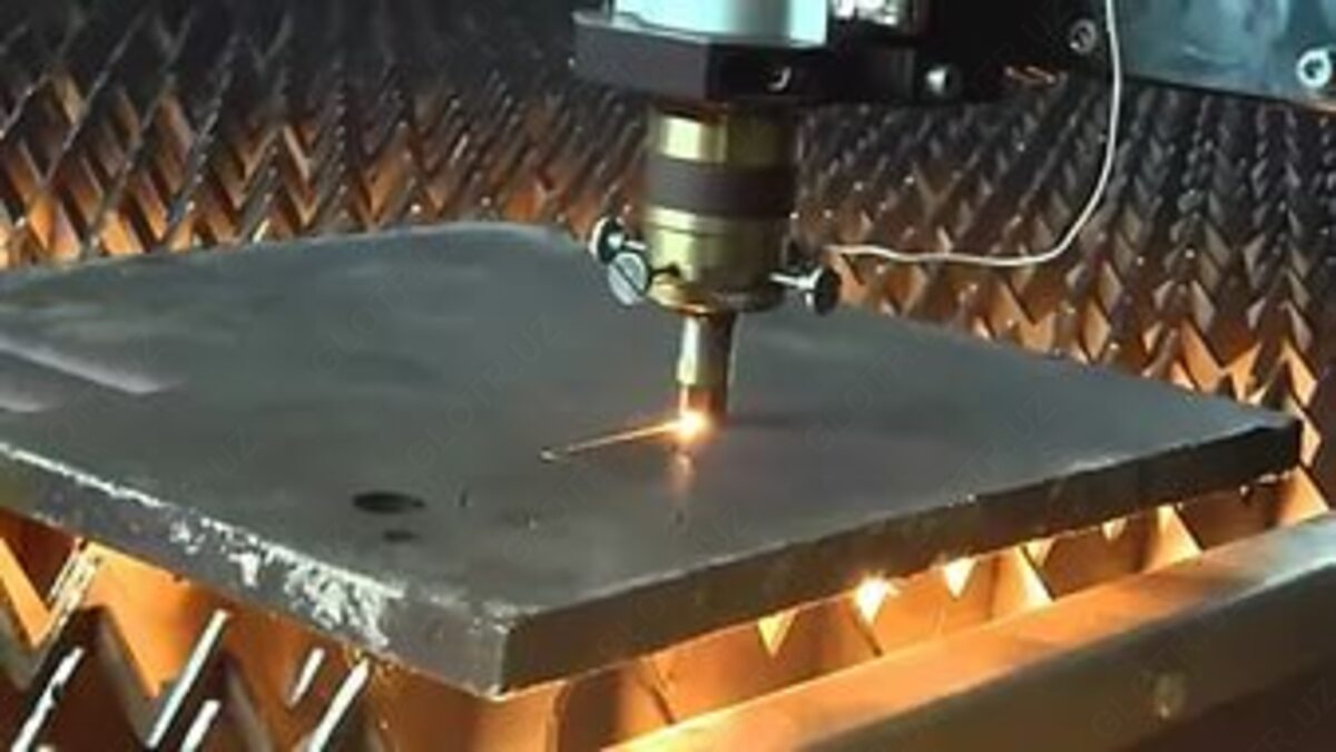 лазерная резка по металлу