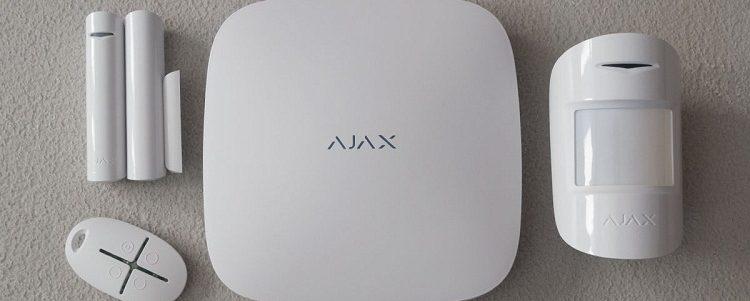 Ajax сигнализация