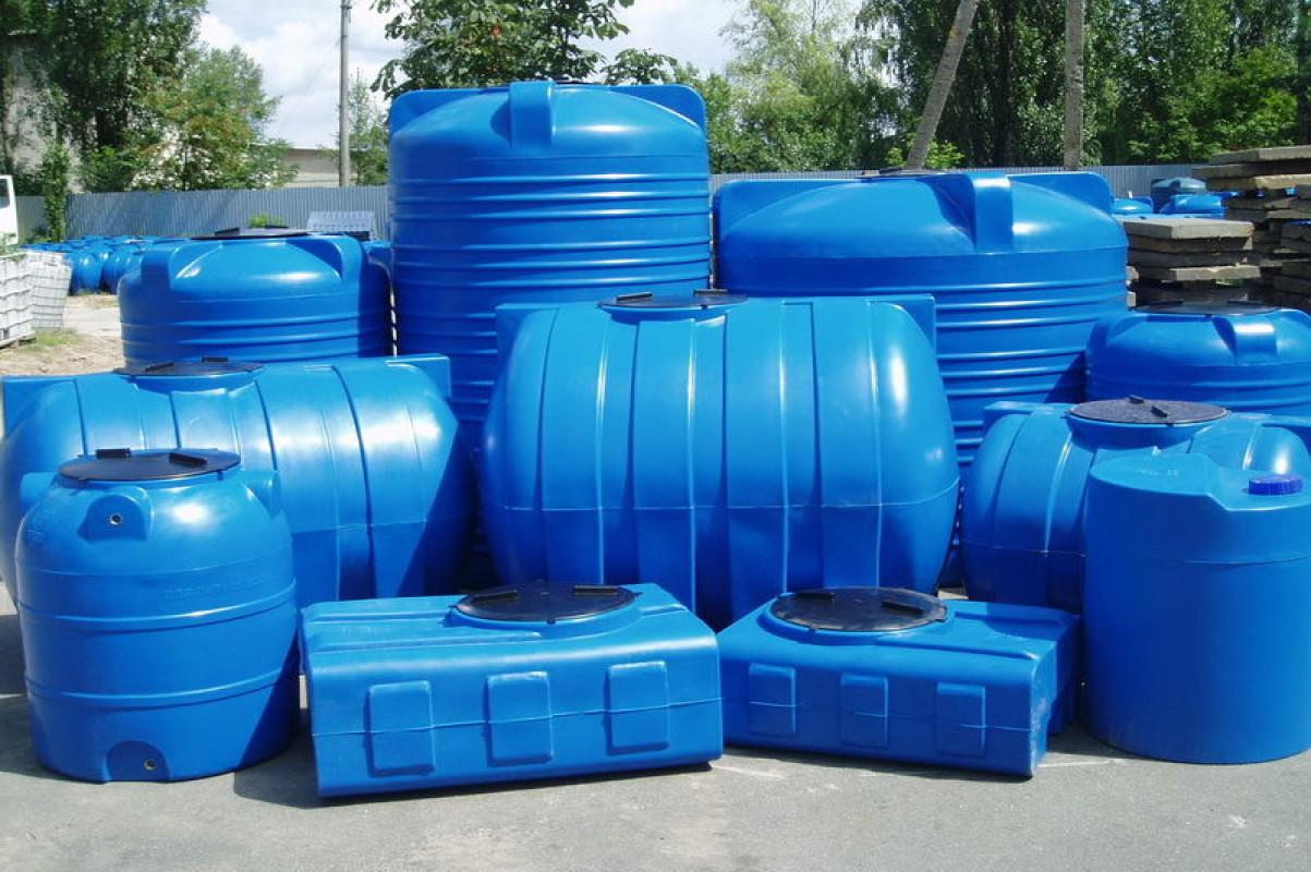 пластиковых емкостей для воды