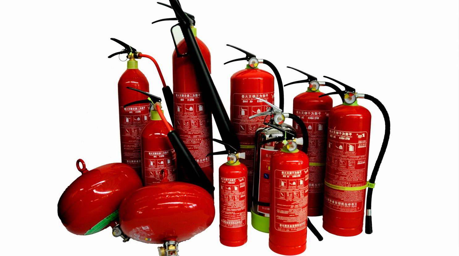 Классификации огнетушителей