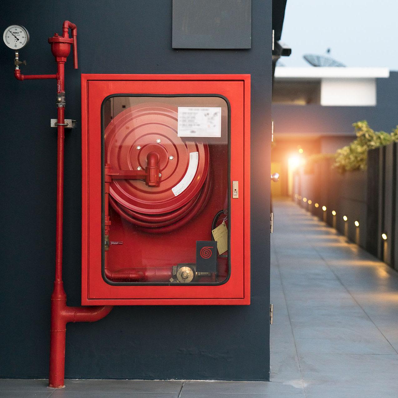 Проверка работоспособности пожарного крана