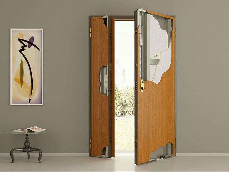 металлическая дверь 2 го типа