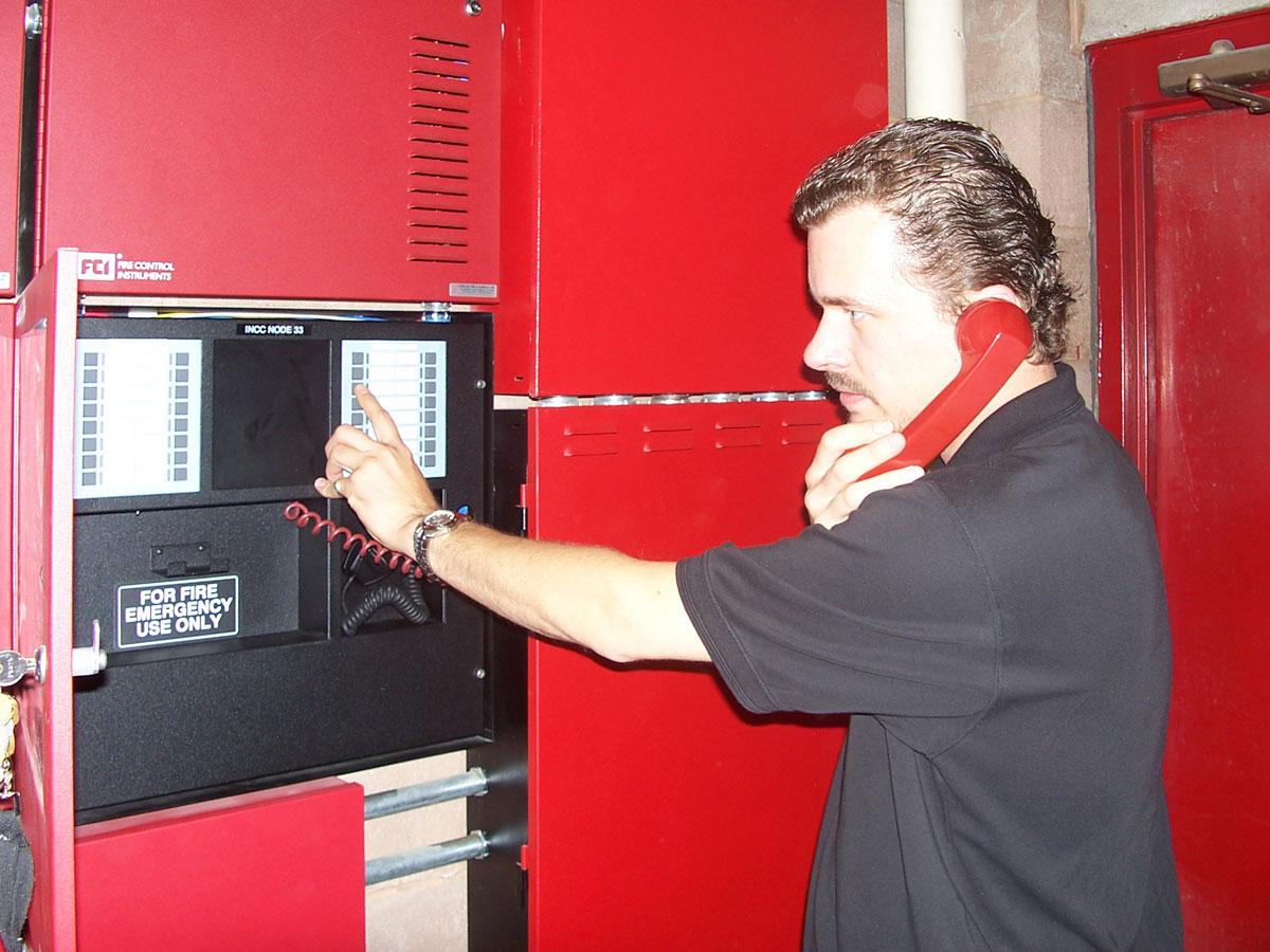 обслуживание системы пожарной сигнализации и системы оповещения о пожаре
