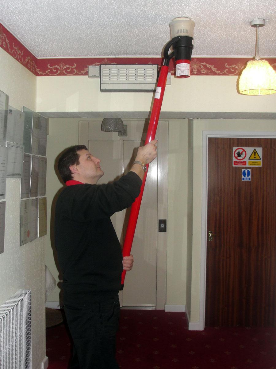 проведение технического обслуживания системы пожарной сигнализации