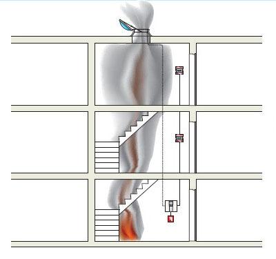 системы дымоудаления схема