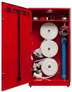 шкаф для хранения пожарных рукавов и гидранта
